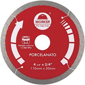 DISCO DIAMANTADO PARA PORCELANATO WORKER