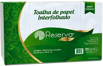 PAPEL TOALHA PREMIUM 1000FLS RESERVA