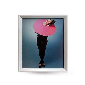 QUADRO 0,40x0,50cm FEMININA PINK FASHION 402 AKAZZA