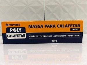 MASSA CALAFETAR CINZA 350G PULVITEC