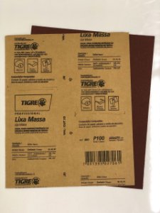 LIXA MASSA/MADEIRA 100 TIGRE