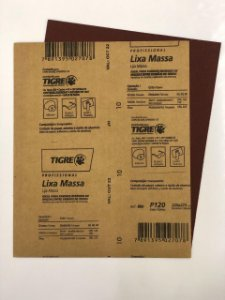 LIXA MASSA/MADEIRA 120 TIGRE