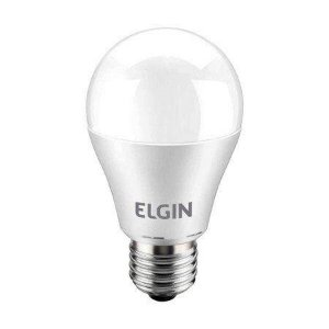 LÂMPADA BULBO LED BRANCA 9W 6500K ELGIN