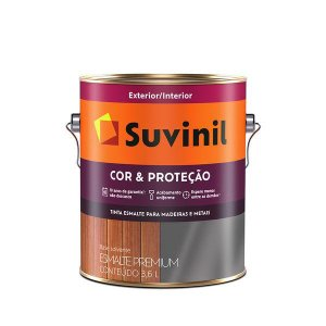 ESMALTE COR&PROTEÇÃO ACETINADO PLATINA 3,6L SUVINIL