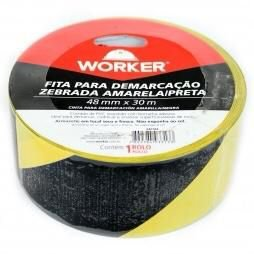 FITA ZEBRADA 07X100MT 1465 WORKER