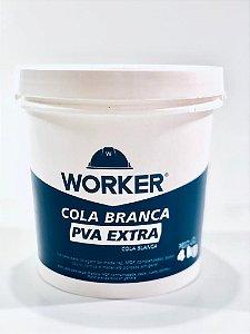 COLA BRANCA 4KG 411124 WORKER