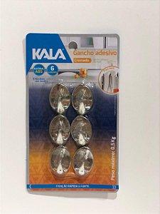 GANCHO COMAND CROMADO COM 6 PEQUENO 861871 KALA