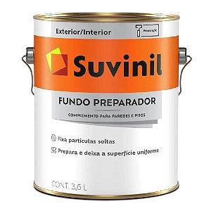 FUNDO PREPARADOR PAREDE BASE GALÃO 3,6L SUVINIL
