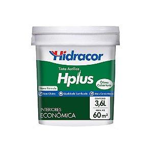 TINTA HPLUS BRANCO NEVE GALÃO 3,6LT HIDRACOR