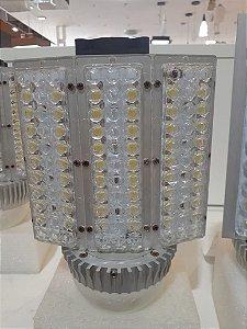 LAMPADA STREET LED 60W E40 4000K AMARELA BIVOLT