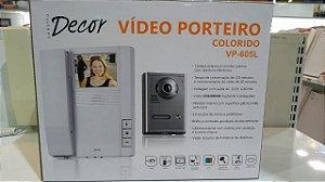 VIDEO PORTEIRO REF. VP-605L COLORIDO DECOR