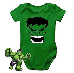 Body Bebê Menino Hulk