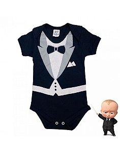 Body Bebê Menino Poderoso Chefinho