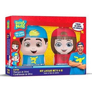 Kit Shampoo e Condicionador Luccas Neto & Gi