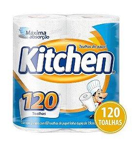 Papel Toalha Kitchen 2 UnidadesAtacado Barato