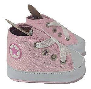 Baby Sapatinho / Tênis Para Bebês Rosa Bebê