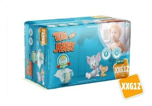 Fralda Descartável Tom E Jerry Jumbinho XXG
