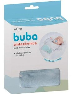 Cinta Térmica P/ Cólica Com Bolsa De Gel Azul Buba