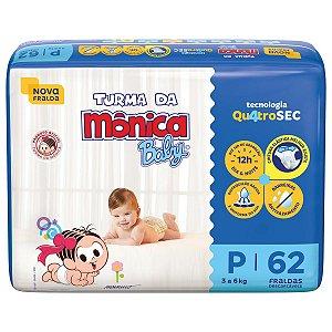 Fralda Turma da Mônica Baby Mega P