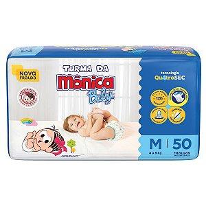 Fralda Turma da Mônica Baby Mega M