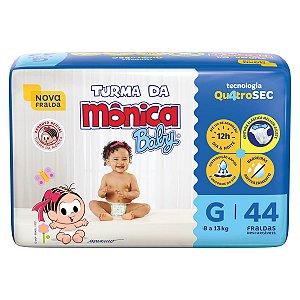 Fralda Turma da Mônica Baby Mega G