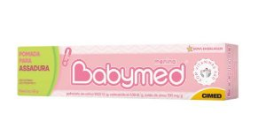 Kit Com 5 Pomadas Babymed Menina Atacado Barato Revenda