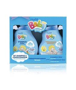 Kit shampoo+condicionador Muriel Baby 100ml