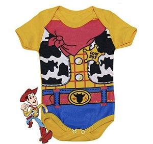 Body Bebê Cowboy Woody Toy Story