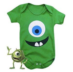 Body Bebê Mike Monstros SA