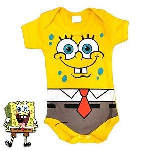 Body Bebê Bob Esponja