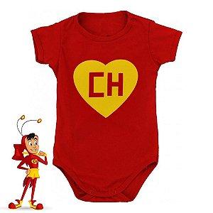 Body Bebê Chapolin Colorado