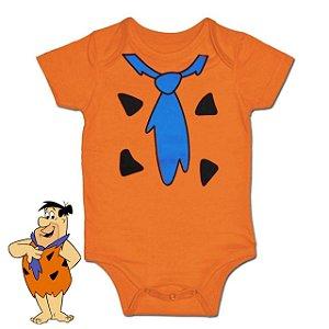 Body Bebê Fred - Os Flintstones