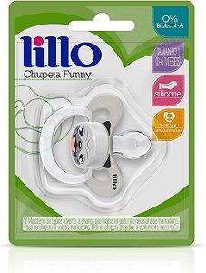 Chupeta Funny Animais Silicone Cachorro Nº1 - Lillo