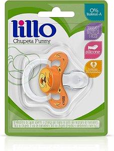 Chupeta Funny Animais Silicone Leão Nº2 - Lillo
