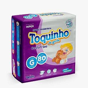 Fraldas Toquinho Premium Atacado Barato G