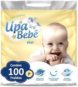Fralda Descartável Infantil Upa Bebê Plus Atacado Barato P