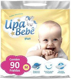 Fralda Descartável Infantil Upa Bebê Plus Atacado Barato M