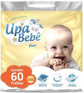 Fralda Descartável Infantil Upa Bebê Plus Atacado Barato XXG
