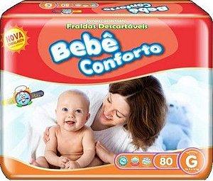FRALDA BEBÊ CONFORTO G ATACADO BARATO
