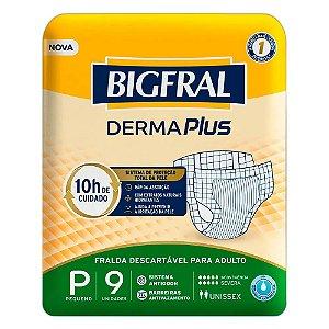 Fralda Geriatrica BigFral Derma Plus P Atacado Barato