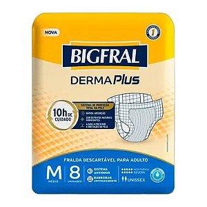 Fralda Geriatrica BigFral Derma Plus M Atacado Barato
