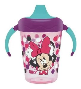 Caneca Antivazamento 207ml +6m Minnie Disney Lillo Lilas