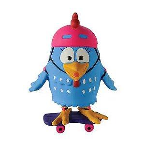 Mordedor La Toy Galinha Pintadinha Com Skate Rosa
