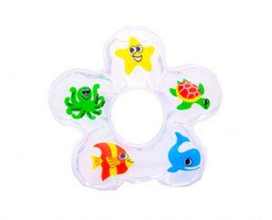 Mordedor Agua Animais Marinhos Vila Toy - Alivio Para Gengiva Do Bebe