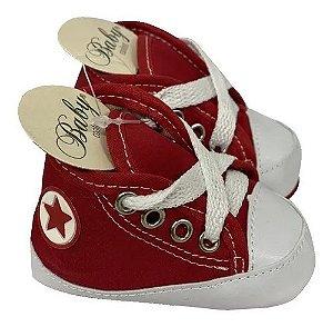 Baby Sapatinho / Tênis Para Bebês Vermelho