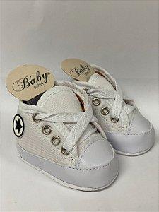 Baby Sapatinho / Tênis Para Bebês Branco