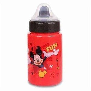 Copo Mickey Mouse Vermelho Com Válvula 340ml - Babygo
