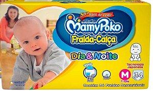 Fralda Calça Mamypoko Dia & Noite Tam M Barato