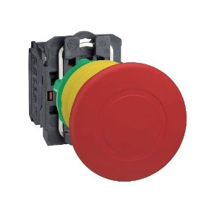 BOTAO SOCO PLAST. 22MM ACAO BRUSCA EMP-PUXAR D40 VM 1NF