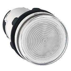 SINALEIRO PLAST. 22MM REDONDO P/LAMP. BA9S 0-250V INCOLOR ECON.